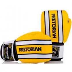 Imagem do produto Luva boxe Trai Pretorian - Branco e Amarelo