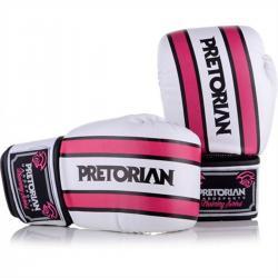 Imagem do produto Luva boxe Trai Pretorian - Branco e Rosa
