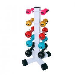 Imagem do produto Suporte para Halteres - Torre para 5 pares - Branco